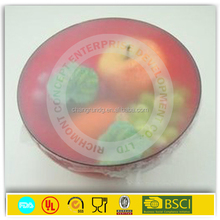 fresh water proof 20 inch black pre foil stretch wrap for food