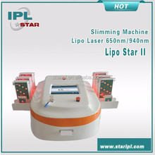 dual wavelength reduction of fat with weight loss machine