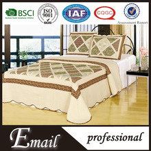 HOT Sell Wholesale Classical 100% cotton brand patchwork bed sheet quilt