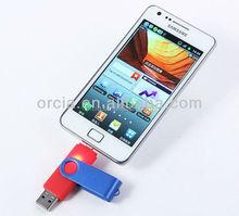 High quality otg usb flash drive, usb flash memory otg usb 2.0, usb 3.0
