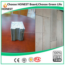 CE certified 50mm thermal insulation indoor eps cement sandwich board