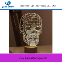 High Quality 3D Night Light Display Stand,Led Lamp Night Light