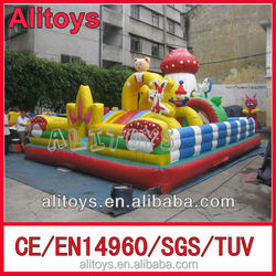 Ali Great quality giant inflatable playgrounds for kids