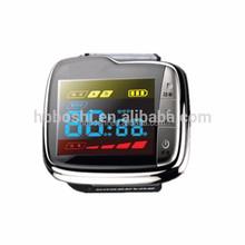 Home use laser rihinitis treatment instrument wrist type