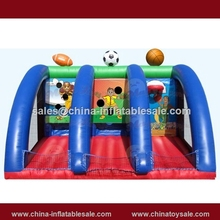Canton Fair ball game combine inflatable basketball,football,rugby ball