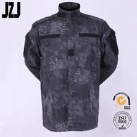 Military Combat Uniform Camouflague Military Uniform T/C 65% Polyester 35% Cotton Ripstop 210G Wholesale Clothing China