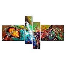 Abstract Art 100% Handmade Oil Painting on blank canvas