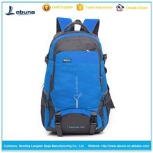 Softback type camping&hiking backpack wateproof nylon material travel bags