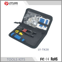 LY-TK28 network tool kit with 10pcs