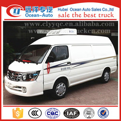 Jinbei 4X2 new refrigerator truck mini refrigerator van for sale