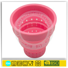 OEM/ODM factory silicone steeper infuser strainer in cup tea pot