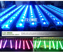 New products led exterior building lights led round wall washer 3 in 1 rgb led wall washer dmx