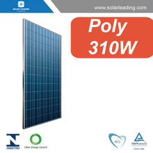 TUV approved 310w hanwha solar one solar panel with pv junction box for solar system price