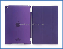 Wholesales Prices High Quality Fashionable Design PU Leather Smart Case Cover for ipad air 2 ipad mini 4 ipad pro