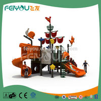 Pirate Ship Series 2015 Top Selling LLDPE Cheap Plastic Outdoor Playgrounds For Children