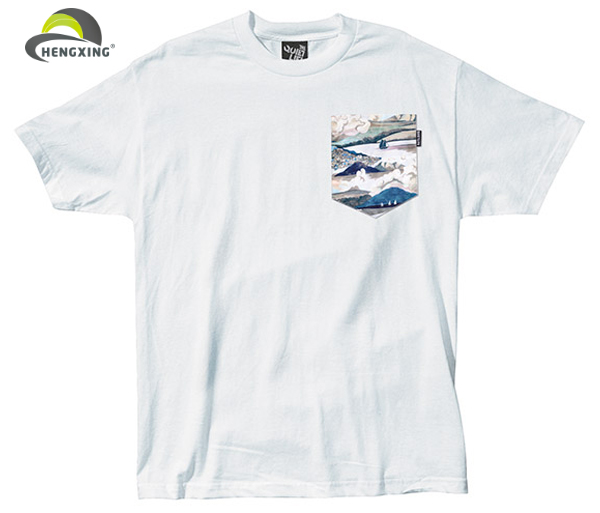 Custom pocket t shirt in different color buy pocket t for Custom t shirts with pockets