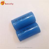 Cheapest 18350 battery icr 18350 battery 900mah 3.7v rechargeable battery for e cigarette