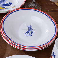 different shapes dinner plates custom print plate