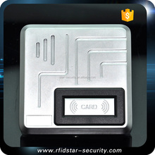 Waterproof Metal Case Access Control Proximity IC Card Reader 13.56MHz IP68