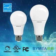 60-Watt replacement A19 GLS energy saving LED bulb, UL cUL energy star listed, dimmable, 300 degree beam angle