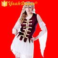 novas variedades de pirata traje fantasia de pirata sexy para adultos