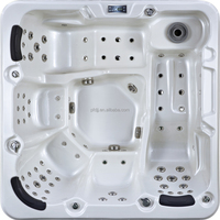 High quality whirlpool 5 people hydromassage bathtub japanese sitting bathtub,bathtub for fat people