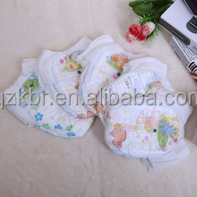 cotton super absorption disposable good quality sleepy training baby diapers