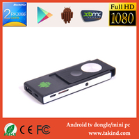 Dual core TV Stick Smart Android 4.4.2 TV dongle 1GB RAM,8GB,Built-in WIFI android tv dongle