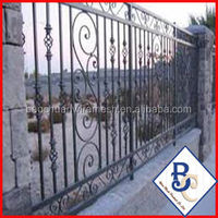 arched fence steel fence