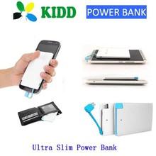 Shenzhen Mobile Power Supply,Super Slim Credit Power Bank 3000mah