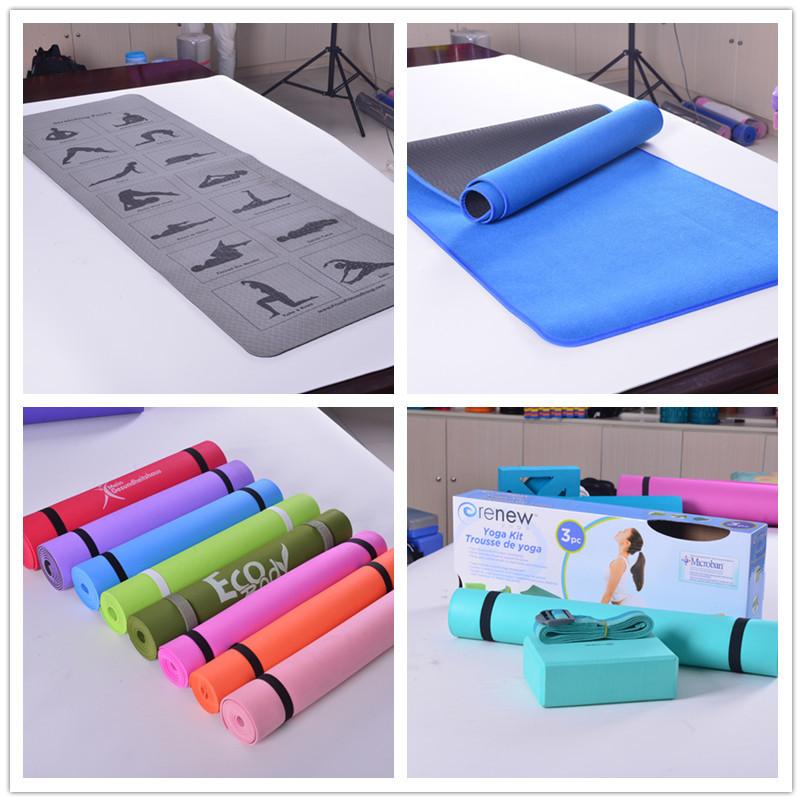 4mm Eco Friendly Eva Yoga Mat