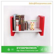 Fashion Design wood table top display shelf From China