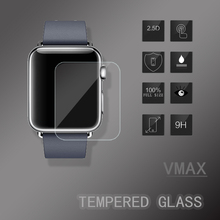 HOT products !! Extremely transparent anti reflex 9H hardness tempered glass screen protector for apple watch screen guard