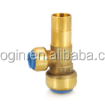 Refrigeration Brass Nipple Fitting, Brass distribution, Nut, Connector, Access Valve (VG-F00102)