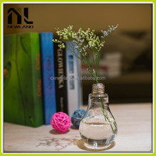 Lamp Bulb Glass Vase wholesale cheap home party chinese party decoration wholesale in china