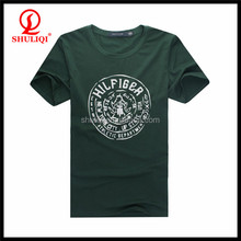Custom Made Short Sleeve Men's Printed T Shirt Slim Fit