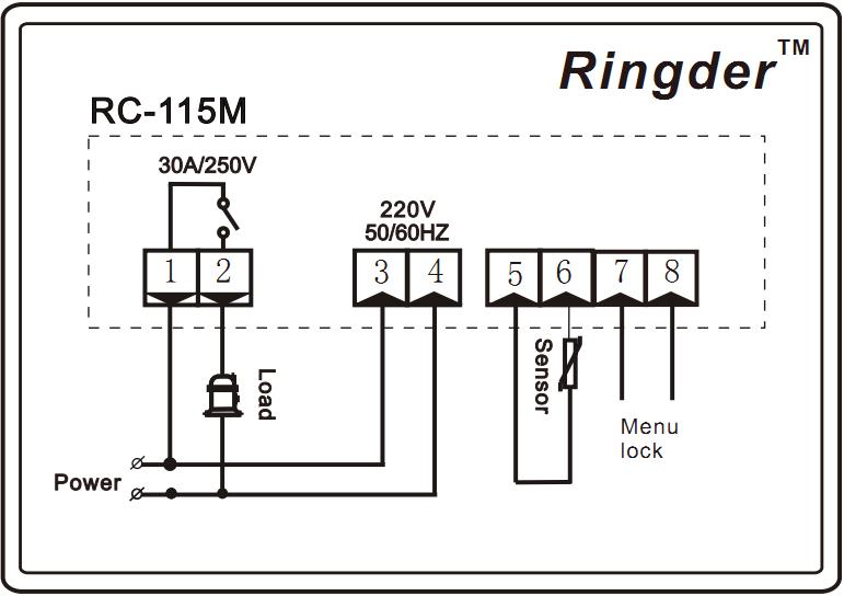 Ringder Rc  Water Heater Temperature