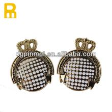 custom gold plating metal lapel pins / quality metal lapel pins