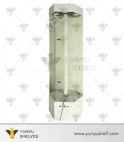 New design glass display showcase