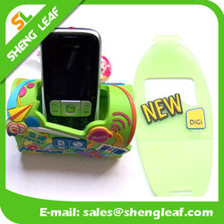 2015 new arrival promotion gift rubber phone holders