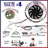 24V 36V 48V 250W 500W 1000W Golden Motor Magic Pie 4 Ebike Kit Electric Bicycle Motor with regenerative braking
