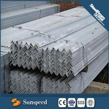 galvanized steel angle/weight of galvanized iron angle
