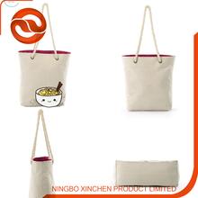 utility and fashion Mr cat logo canvas single shoulder bag tote bag large bag