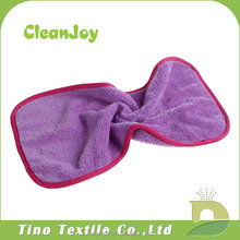 Custom Made Microfiber Face And Eye Cloths Easily Removes Makeup Microfiber Facial Washcloths