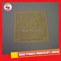 Laser cut Wedding Invitation Card Sleeves