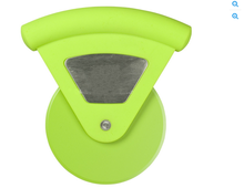 wholesale round plastic pizza cutter with logo
