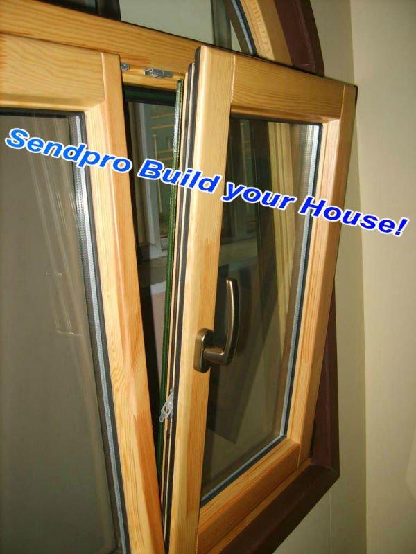 Color legno alluminio doppi vetri finestre di alluminio - Doppi vetri finestre ...