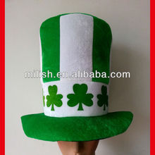 Fiesta Verde divertido dia de San Patricio / gorra trébol promocional MH-1584