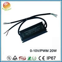 High efficiency high power factor constant voltage 12V 24V 36V 0-10V dimming led driver