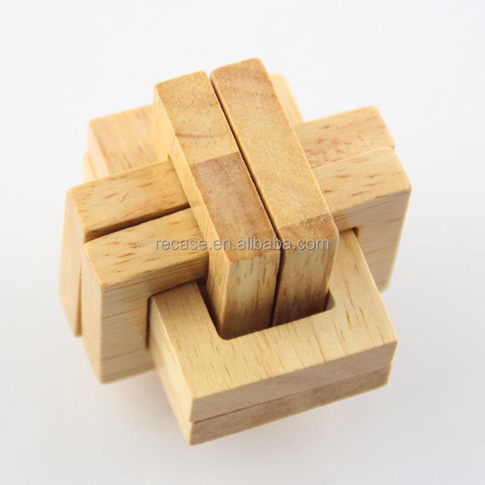 3d Wooden Puzzles Puzzle Cube Wooden Cube